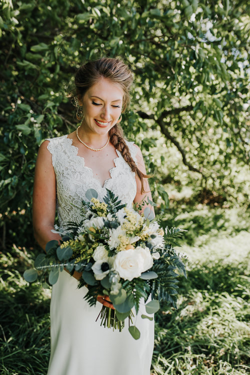 Cassidy & Isaac - Married - Nathaniel Jensen Photography - Omaha Nebraska Wedding Photograper - Nordstroms Christmas Tree Farm-70.jpg