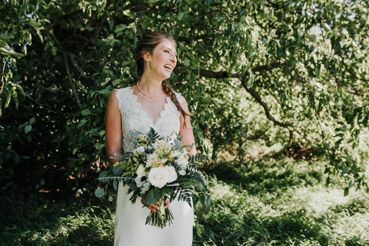 Cassidy & Isaac - Married - Nathaniel Jensen Photography - Omaha Nebraska Wedding Photograper - Nordstroms Christmas Tree Farm-71.jpg