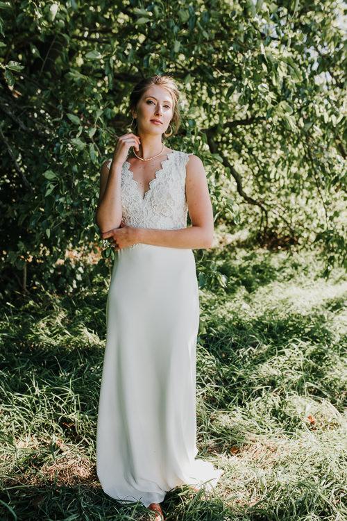 Cassidy & Isaac - Married - Nathaniel Jensen Photography - Omaha Nebraska Wedding Photograper - Nordstroms Christmas Tree Farm-83.jpg