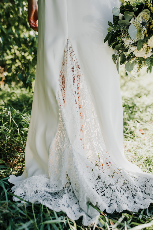 Cassidy & Isaac - Married - Nathaniel Jensen Photography - Omaha Nebraska Wedding Photograper - Nordstroms Christmas Tree Farm-86.jpg