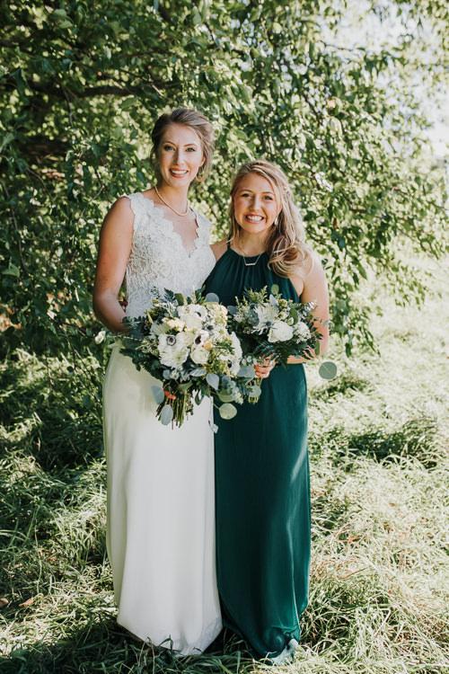 Cassidy & Isaac - Married - Nathaniel Jensen Photography - Omaha Nebraska Wedding Photograper - Nordstroms Christmas Tree Farm-90.jpg