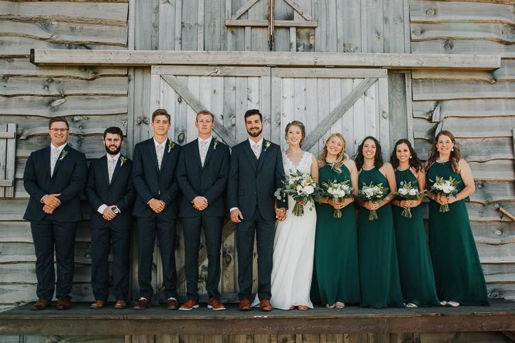 Cassidy & Isaac - Married - Nathaniel Jensen Photography - Omaha Nebraska Wedding Photograper - Nordstroms Christmas Tree Farm-112.jpg