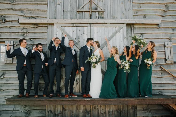 Cassidy & Isaac - Married - Nathaniel Jensen Photography - Omaha Nebraska Wedding Photograper - Nordstroms Christmas Tree Farm-115.jpg