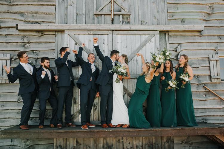 Cassidy & Isaac - Married - Nathaniel Jensen Photography - Omaha Nebraska Wedding Photograper - Nordstroms Christmas Tree Farm-116.jpg