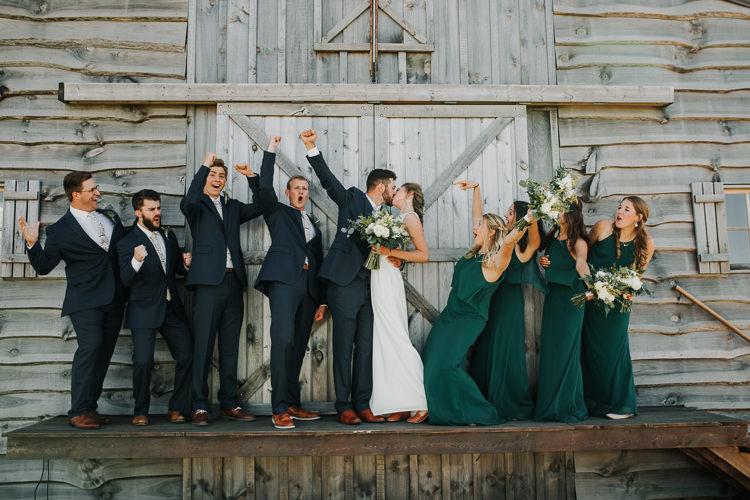 Cassidy & Isaac - Married - Nathaniel Jensen Photography - Omaha Nebraska Wedding Photograper - Nordstroms Christmas Tree Farm-117.jpg