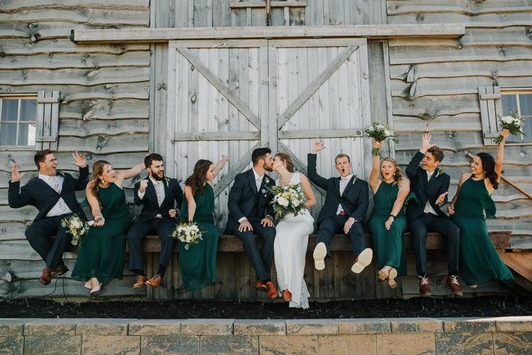 Cassidy & Isaac - Married - Nathaniel Jensen Photography - Omaha Nebraska Wedding Photograper - Nordstroms Christmas Tree Farm-125.jpg