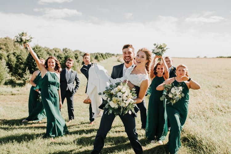 Cassidy & Isaac - Married - Nathaniel Jensen Photography - Omaha Nebraska Wedding Photograper - Nordstroms Christmas Tree Farm-139.jpg