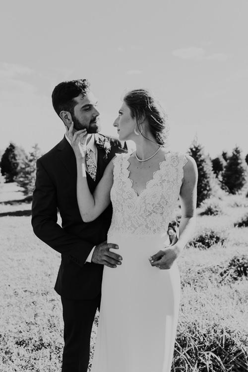 Cassidy & Isaac - Married - Nathaniel Jensen Photography - Omaha Nebraska Wedding Photograper - Nordstroms Christmas Tree Farm-151.jpg