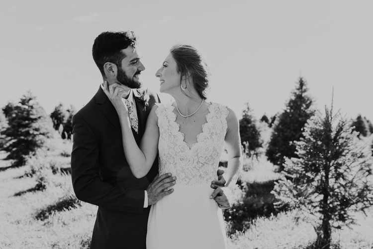 Cassidy & Isaac - Married - Nathaniel Jensen Photography - Omaha Nebraska Wedding Photograper - Nordstroms Christmas Tree Farm-159.jpg