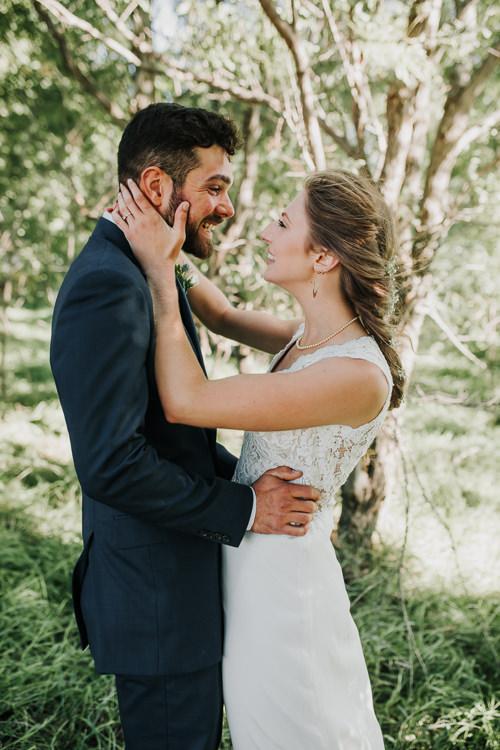 Cassidy & Isaac - Married - Nathaniel Jensen Photography - Omaha Nebraska Wedding Photograper - Nordstroms Christmas Tree Farm-161.jpg