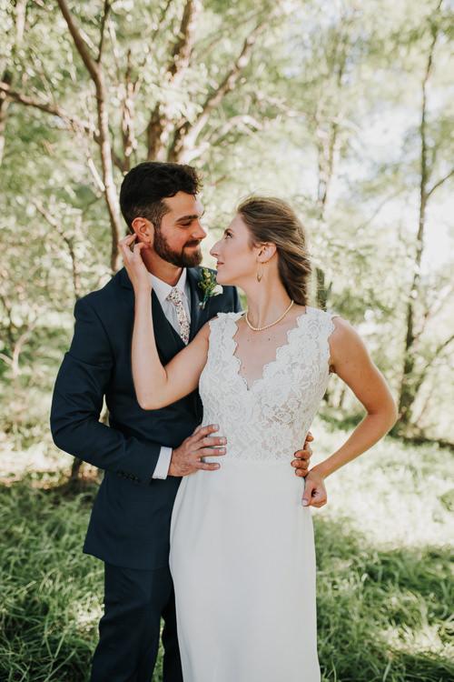 Cassidy & Isaac - Married - Nathaniel Jensen Photography - Omaha Nebraska Wedding Photograper - Nordstroms Christmas Tree Farm-162.jpg