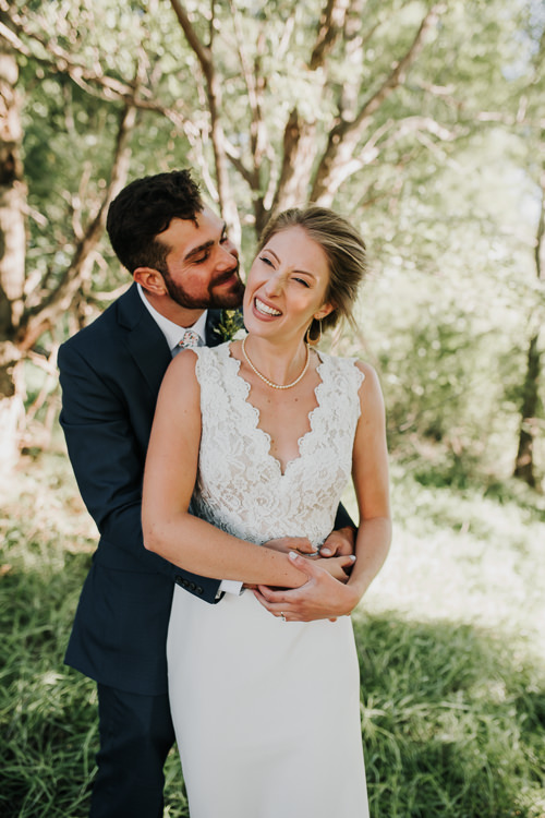 Cassidy & Isaac - Married - Nathaniel Jensen Photography - Omaha Nebraska Wedding Photograper - Nordstroms Christmas Tree Farm-165.jpg
