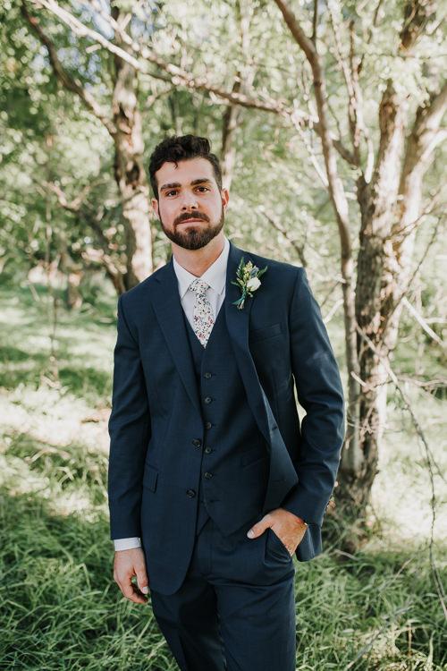 Cassidy & Isaac - Married - Nathaniel Jensen Photography - Omaha Nebraska Wedding Photograper - Nordstroms Christmas Tree Farm-166.jpg