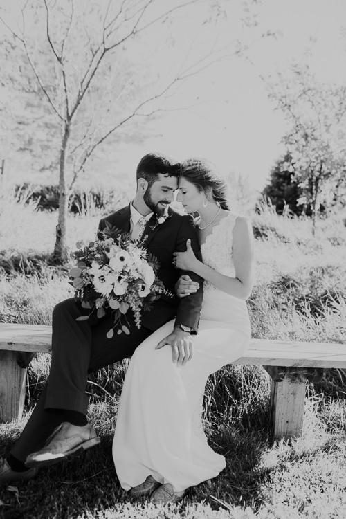 Cassidy & Isaac - Married - Nathaniel Jensen Photography - Omaha Nebraska Wedding Photograper - Nordstroms Christmas Tree Farm-181.jpg