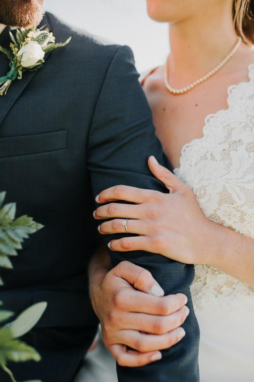 Cassidy & Isaac - Married - Nathaniel Jensen Photography - Omaha Nebraska Wedding Photograper - Nordstroms Christmas Tree Farm-182.jpg