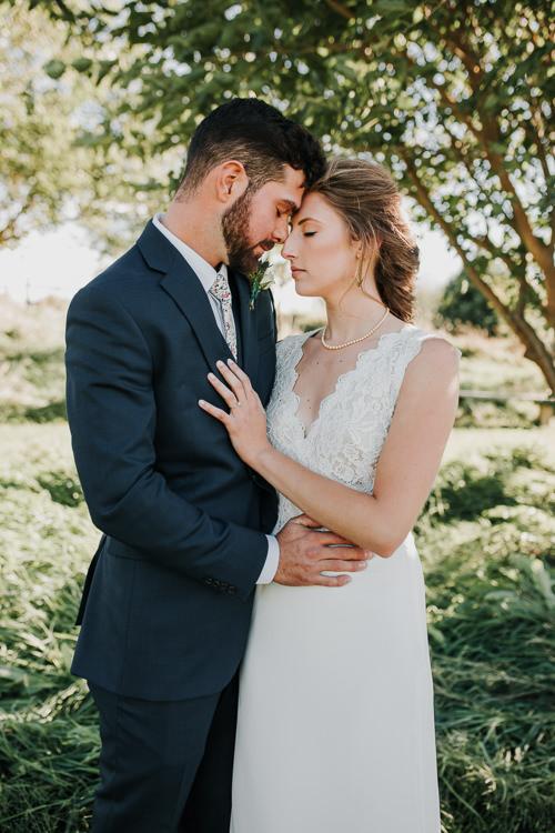 Cassidy & Isaac - Married - Nathaniel Jensen Photography - Omaha Nebraska Wedding Photograper - Nordstroms Christmas Tree Farm-185.jpg