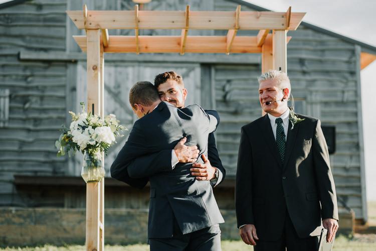 Cassidy & Isaac - Married - Nathaniel Jensen Photography - Omaha Nebraska Wedding Photograper - Nordstroms Christmas Tree Farm-264.jpg