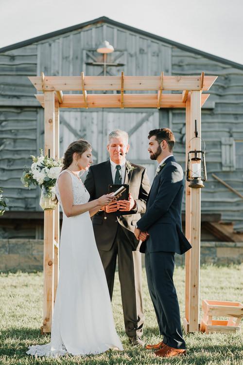 Cassidy & Isaac - Married - Nathaniel Jensen Photography - Omaha Nebraska Wedding Photograper - Nordstroms Christmas Tree Farm-292.jpg