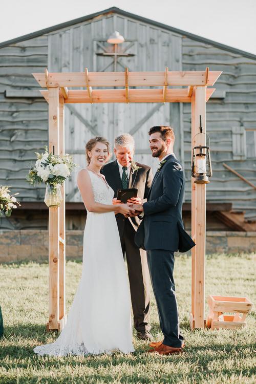 Cassidy & Isaac - Married - Nathaniel Jensen Photography - Omaha Nebraska Wedding Photograper - Nordstroms Christmas Tree Farm-298.jpg