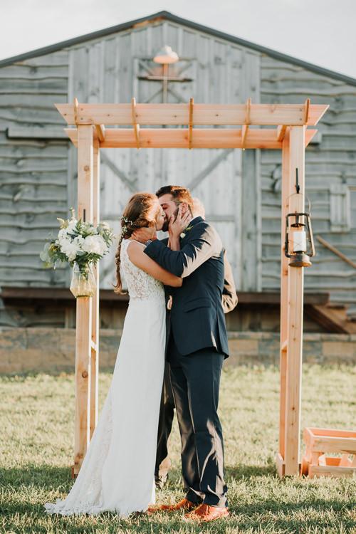 Cassidy & Isaac - Married - Nathaniel Jensen Photography - Omaha Nebraska Wedding Photograper - Nordstroms Christmas Tree Farm-309.jpg