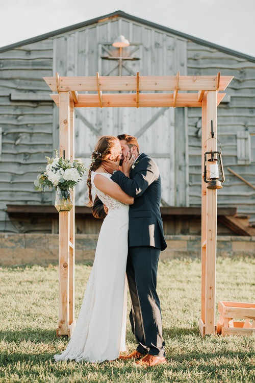 Cassidy & Isaac - Married - Nathaniel Jensen Photography - Omaha Nebraska Wedding Photograper - Nordstroms Christmas Tree Farm-312.jpg