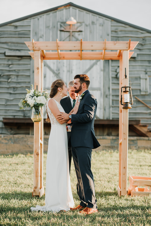 Cassidy & Isaac - Married - Nathaniel Jensen Photography - Omaha Nebraska Wedding Photograper - Nordstroms Christmas Tree Farm-313.jpg