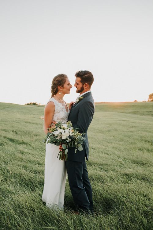 Cassidy & Isaac - Married - Nathaniel Jensen Photography - Omaha Nebraska Wedding Photograper - Nordstroms Christmas Tree Farm-333.jpg