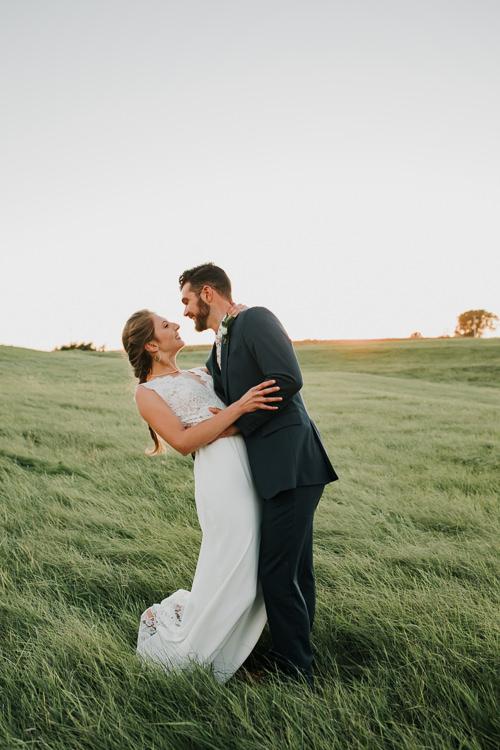 Cassidy & Isaac - Married - Nathaniel Jensen Photography - Omaha Nebraska Wedding Photograper - Nordstroms Christmas Tree Farm-336.jpg