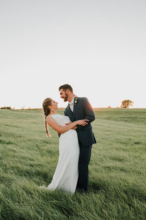 Cassidy & Isaac - Married - Nathaniel Jensen Photography - Omaha Nebraska Wedding Photograper - Nordstroms Christmas Tree Farm-338.jpg