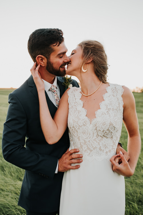 Cassidy & Isaac - Married - Nathaniel Jensen Photography - Omaha Nebraska Wedding Photograper - Nordstroms Christmas Tree Farm-346.jpg