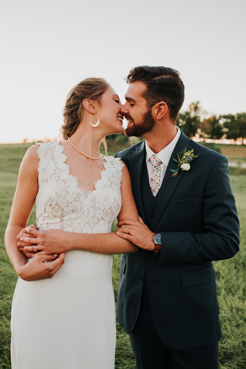 Cassidy & Isaac - Married - Nathaniel Jensen Photography - Omaha Nebraska Wedding Photograper - Nordstroms Christmas Tree Farm-355.jpg