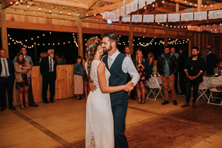 Cassidy & Isaac - Married - Nathaniel Jensen Photography - Omaha Nebraska Wedding Photograper - Nordstroms Christmas Tree Farm-431.jpg