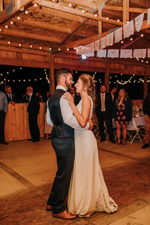 Cassidy & Isaac - Married - Nathaniel Jensen Photography - Omaha Nebraska Wedding Photograper - Nordstroms Christmas Tree Farm-432.jpg