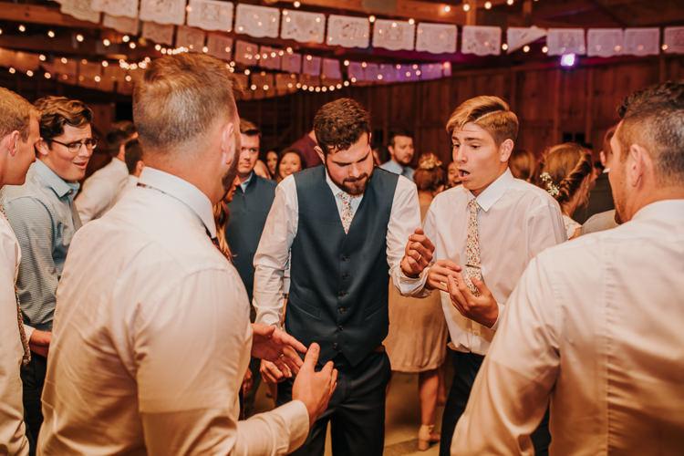 Cassidy & Isaac - Married - Nathaniel Jensen Photography - Omaha Nebraska Wedding Photograper - Nordstroms Christmas Tree Farm-473.jpg