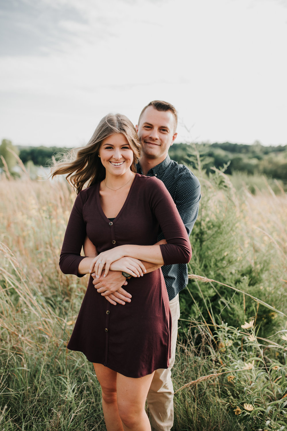 Paige & Nick - Engaged - Nathaniel Jensen Photography - Omaha Nebraska Wedding Photograper - Omaha Nebraska Engagement Session - Chalco Hills Engagement Session-2.jpg