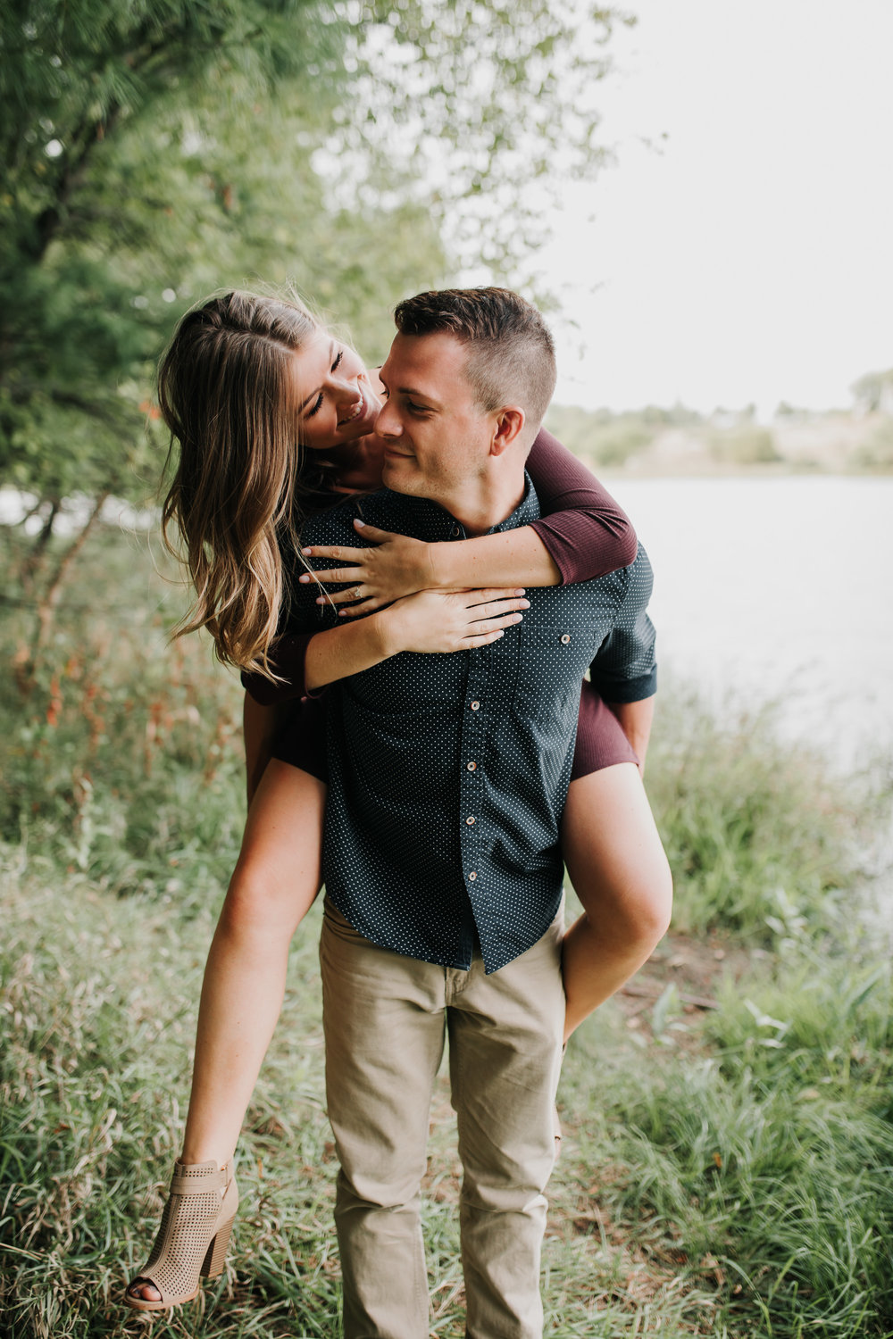 Paige & Nick - Engaged - Nathaniel Jensen Photography - Omaha Nebraska Wedding Photograper - Omaha Nebraska Engagement Session - Chalco Hills Engagement Session-16.jpg