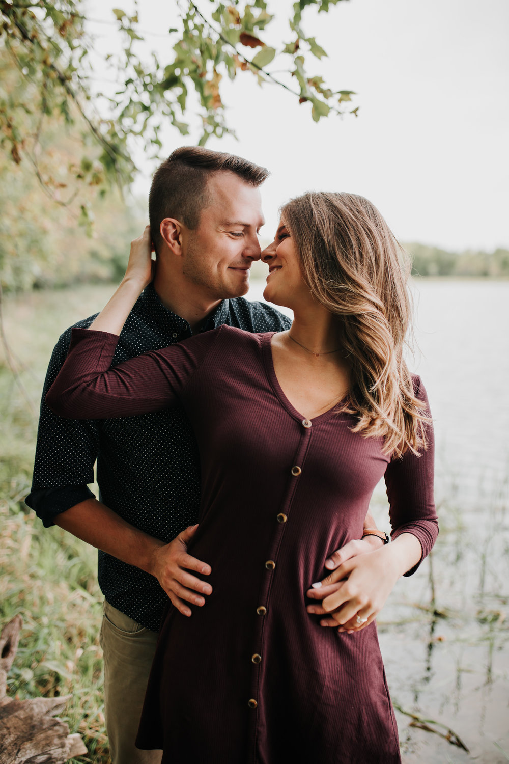 Paige & Nick - Engaged - Nathaniel Jensen Photography - Omaha Nebraska Wedding Photograper - Omaha Nebraska Engagement Session - Chalco Hills Engagement Session-22.jpg