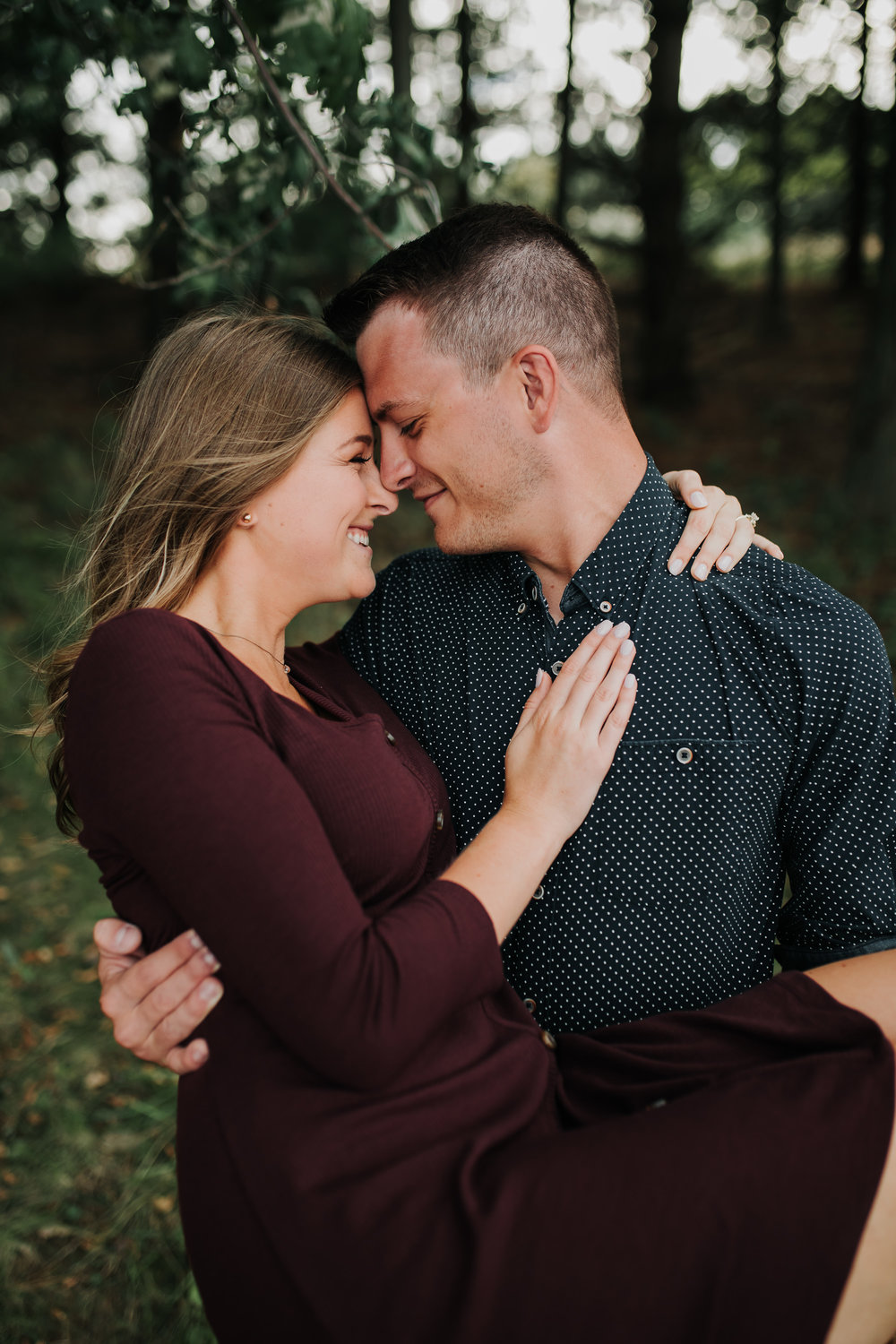 Paige & Nick - Engaged - Nathaniel Jensen Photography - Omaha Nebraska Wedding Photograper - Omaha Nebraska Engagement Session - Chalco Hills Engagement Session-25.jpg