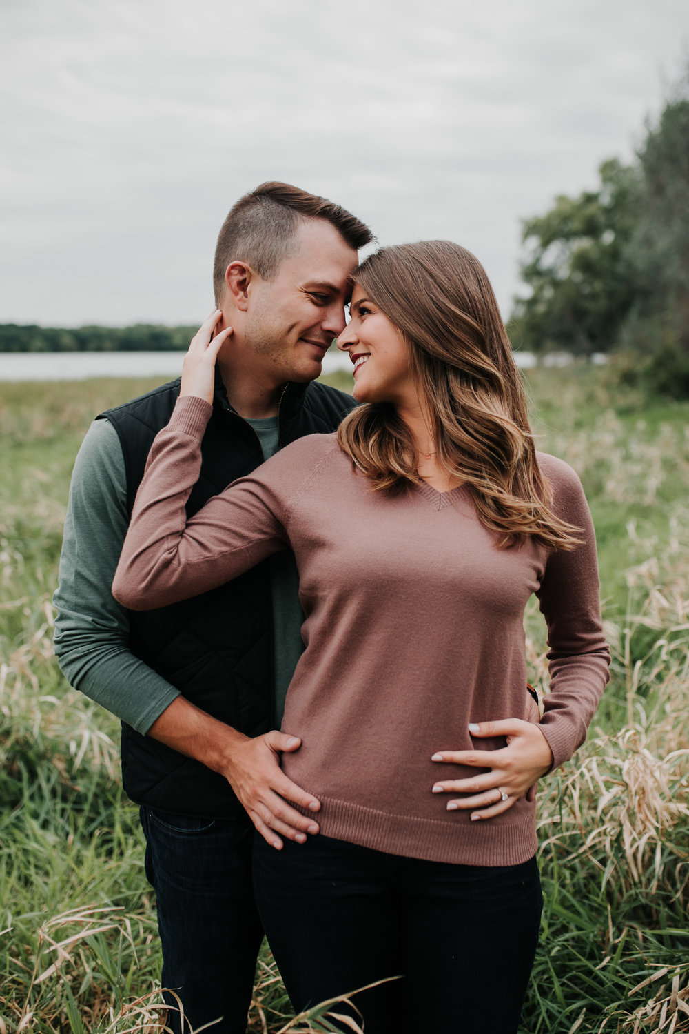 Paige & Nick - Engaged - Nathaniel Jensen Photography - Omaha Nebraska Wedding Photograper - Omaha Nebraska Engagement Session - Chalco Hills Engagement Session-85.jpg