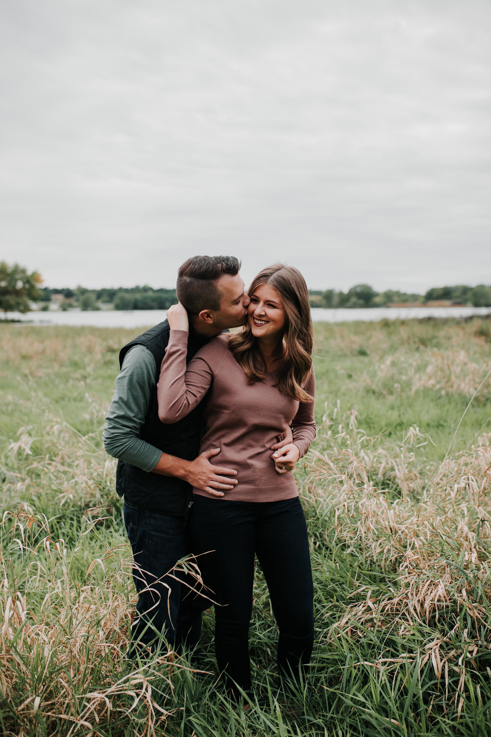 Paige & Nick - Engaged - Nathaniel Jensen Photography - Omaha Nebraska Wedding Photograper - Omaha Nebraska Engagement Session - Chalco Hills Engagement Session-89.jpg