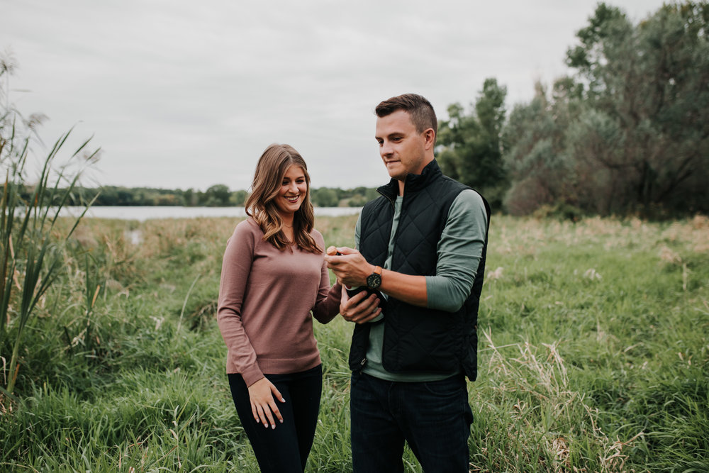 Paige & Nick - Engaged - Nathaniel Jensen Photography - Omaha Nebraska Wedding Photograper - Omaha Nebraska Engagement Session - Chalco Hills Engagement Session-90.jpg