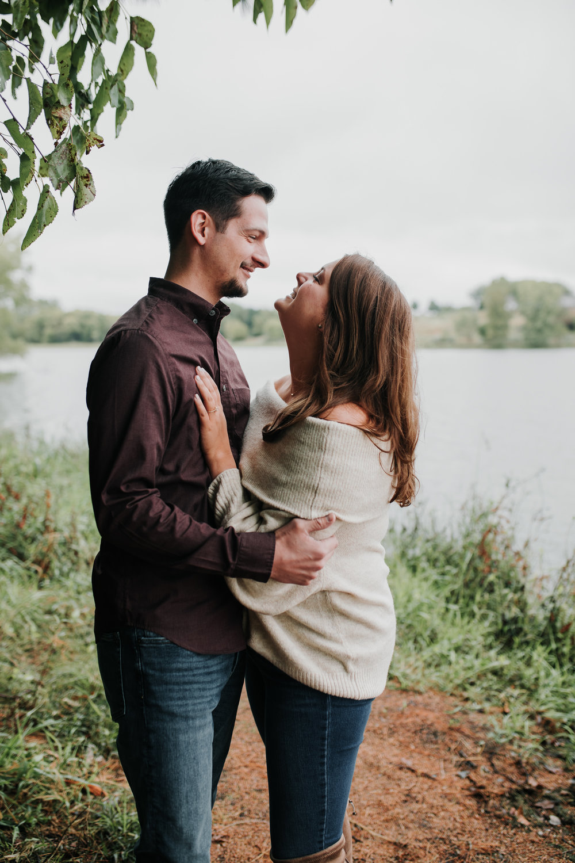 Jordan & Randy - Engaged - Nathaniel Jensen Photography - Omaha Nebraska Wedding Photograper - Omaha Nebraska Engagement Session - Chalco Hills Engagement Session-2.jpg