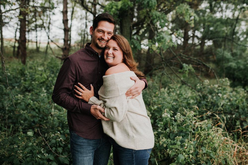 Jordan & Randy - Engaged - Nathaniel Jensen Photography - Omaha Nebraska Wedding Photograper - Omaha Nebraska Engagement Session - Chalco Hills Engagement Session-29.jpg