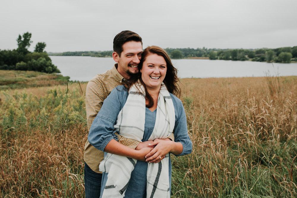 Jordan & Randy - Engaged - Nathaniel Jensen Photography - Omaha Nebraska Wedding Photograper - Omaha Nebraska Engagement Session - Chalco Hills Engagement Session-95.jpg