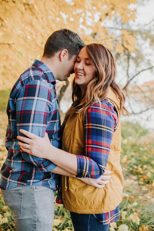 Katie & Adam - Engaged - Nathaniel Jensen Photography - Omaha Nebraska Wedding Photograper - Omaha Nebraska Engagement Session - Chalco Hills Engagement Session-3.jpg