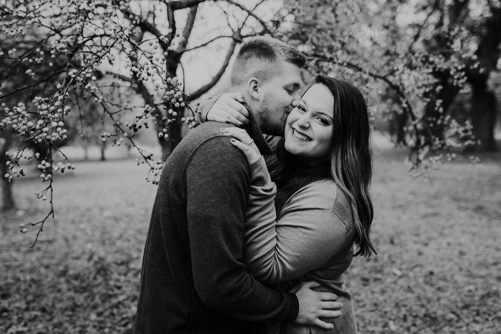 Hannah & Brett - Engaged - Nathaniel Jensen Photography - Omaha Nebraska Wedding Photograper - Omaha Nebraska Engagement Session - Downtown Omaha Engagement Session-37.jpg