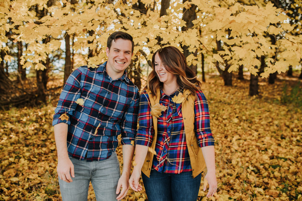 Katie & Adam - Engaged - Nathaniel Jensen Photography - Omaha Nebraska Wedding Photograper - Omaha Nebraska Engagement Session - Chalco Hills Engagement Session-15.jpg