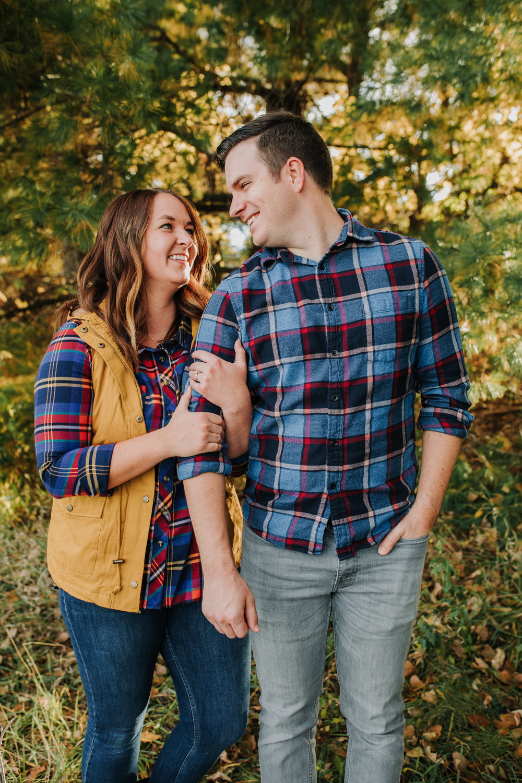 Katie & Adam - Engaged - Nathaniel Jensen Photography - Omaha Nebraska Wedding Photograper - Omaha Nebraska Engagement Session - Chalco Hills Engagement Session-18.jpg