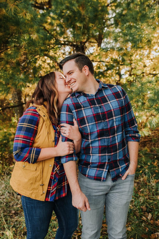 Katie & Adam - Engaged - Nathaniel Jensen Photography - Omaha Nebraska Wedding Photograper - Omaha Nebraska Engagement Session - Chalco Hills Engagement Session-23.jpg