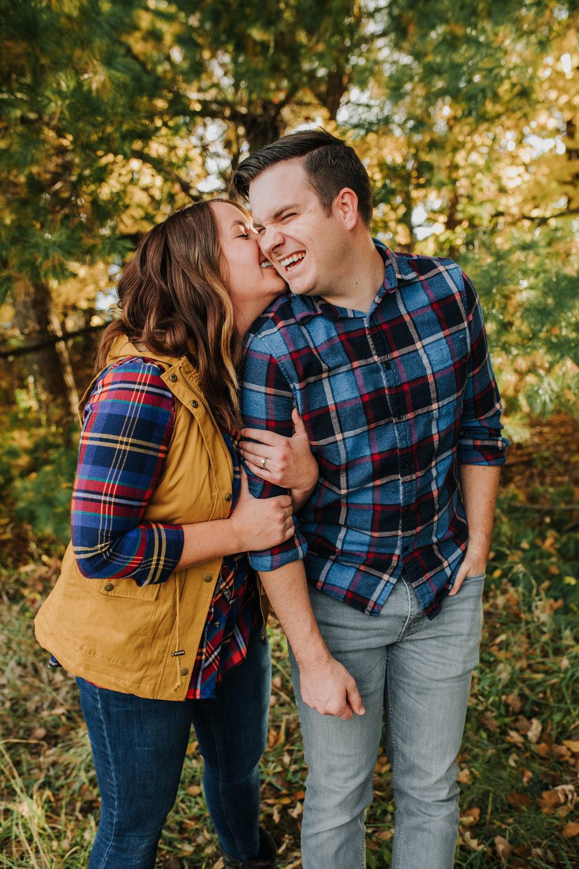 Katie & Adam - Engaged - Nathaniel Jensen Photography - Omaha Nebraska Wedding Photograper - Omaha Nebraska Engagement Session - Chalco Hills Engagement Session-24.jpg